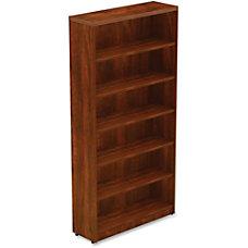 Lorell Chateau Series Bookcase 6 Shelf