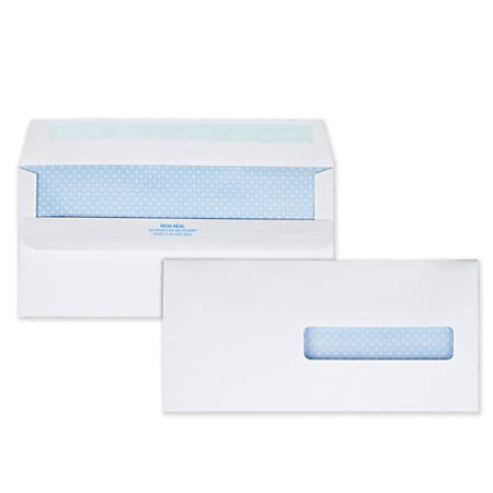 Quality Park Medical Claim Business Envelopes With Self Seal 10 412