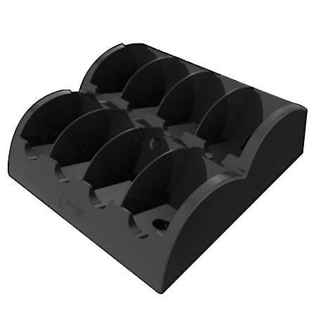 "FLAVIA® Small Freshpack Holder, 4 1/2""H x 15 3/4"" x 13 7/16""D, Black"
