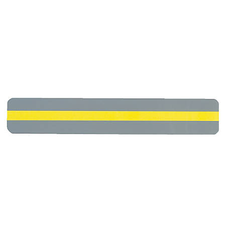 "Ashley Productions Reading Guide Strips, 1 1/4"" x 7 1/4"", Yellow, Pack Of 24"