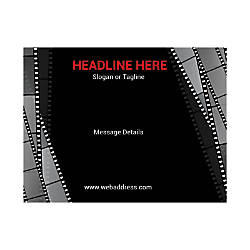 Custom Flyers Horizontal Film Strips