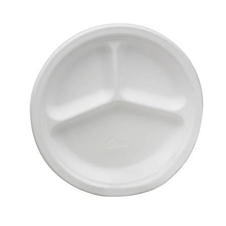 "Chinet® Paper Plates, 10 1/4"" Diameter, Box Of 500 (AbilityOne 7350-01-263-6700)"