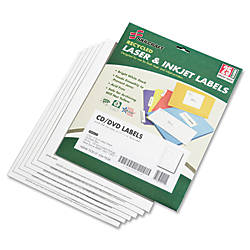 Laser CDDVD Matte Labels NSN5549538 Pack