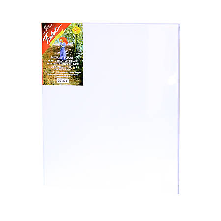 """Fredrix Red Label Stretched Cotton Canvas, 20"""" x 24"""" x 11/16"""""""