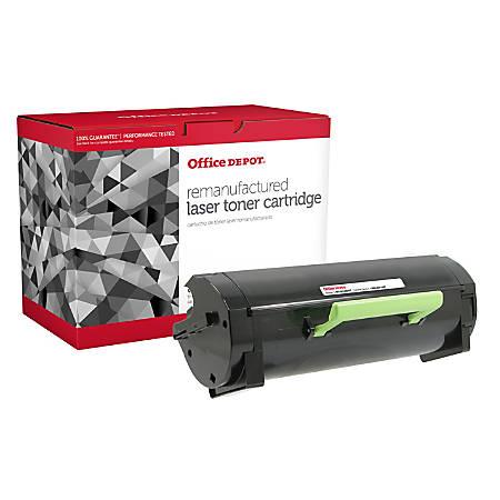 Office Depot® MS410 (Lexmark 60F0HA0 / 60F1H00 / 60F1000 / 50F1X00) Remanufactured High-Yield Black Toner Cartridge