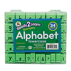 Center Enterprises Ready2Learn Manuscript Alphabet Stamps