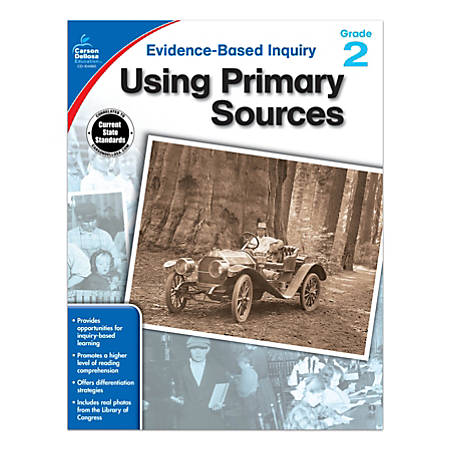Carson-Dellosa® Using Primary Sources Workbook, Grade 2