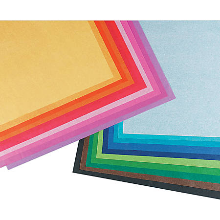 """Pacon® Spectra® Assorted Color Tissue Pack, 20"""" x 30"""", 20 Colors, Pack Of 100 Sheets"""