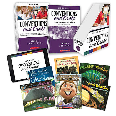 Scholastic Professional Conventions And Craft Instruction Kit, 1st Grade