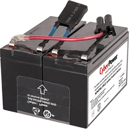 CyberPower RB1290X2B UPS Replacement Battery Cartridge for PR750LCD