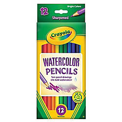 Crayola Watercolor Pencils Set Of 12