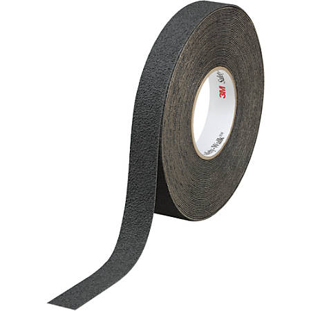 "3M™ 310 Safety-Walk Tape, 3"" Core, 1"" x 60', Black, Case Of 4"
