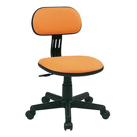 Office Star™ Student Task Chair, Orange