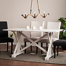 Southern Enterprises Cardwell Distressed Farmhouse Dining