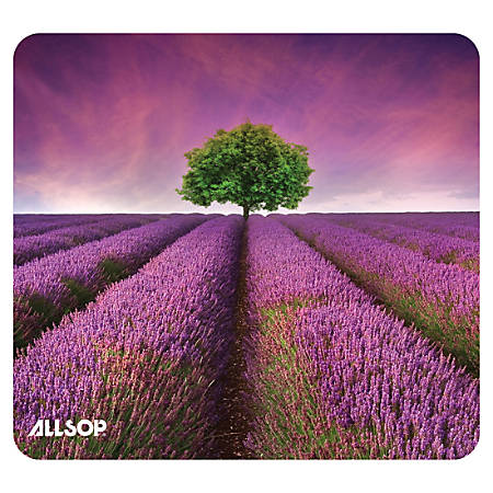 "Allsop® Naturesmart Mouse Pad, 8.5"" x 8"", Purple"