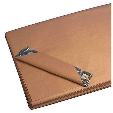 "Office Depot® Brand Kraft Paper Sheets, 30 Lb, 30"" x 40"", 100% Recycled, Kraft, Case Of 600"