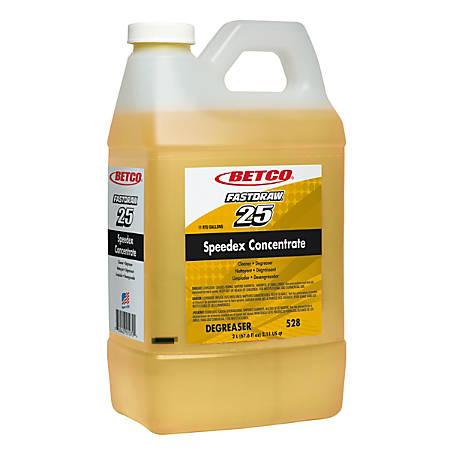 Betco® Speedex Degreaser, Lemon Scent, 67.6 Oz, Pack Of 4 Containers