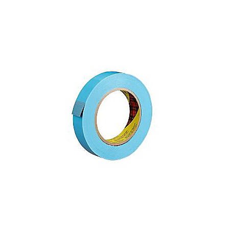 """3M® 8898 Tensilized Poly Strapping Tape, 1"""" x 60 Yd., Blue, Case Of 12"""