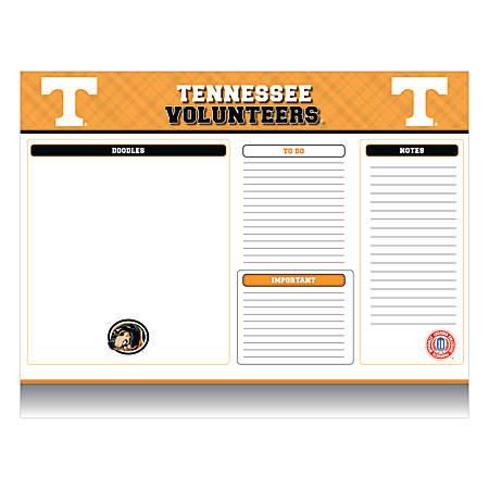 "Markings by C.R. Gibson® Desk Notepad, 17"" x 22"", Tennessee Volunteers"