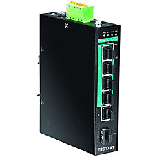TRENDnet 5 Port Hardened Industrial Gigabit