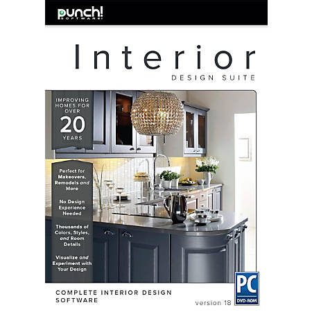 Encore® Punch Interior Design Suite V18, Traditional Disc