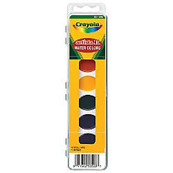 Crayola Artista II Semi Moist Oval