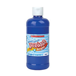 Scholastic Washable Tempera Paint 16 Oz