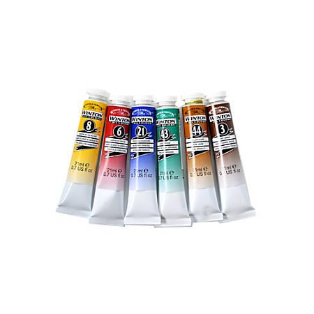 Winsor & Newton Winton Oil Color Intro Set, 21 mL, Set Of 6