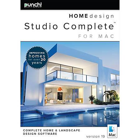 Punch! Home Design Studio Complete for Mac v19