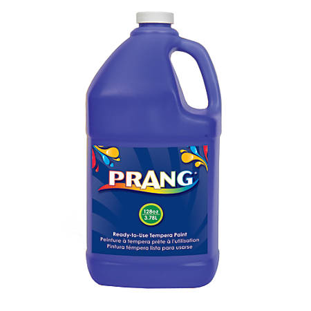 Prang® Ready-To-Use Tempera Paint, 128 Oz., Blue