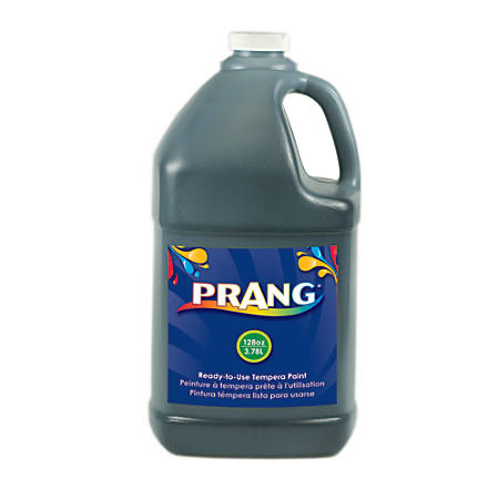 Prang® Ready-To-Use Tempera Paint, 128 Oz., Black