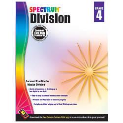 Carson Dellosa Spectrum Math Workbook Division