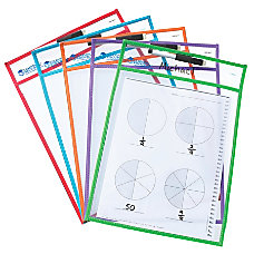 Learning Resources Magnetic Whiteboard Storage Pockets