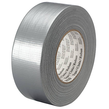 """3M™ 3939 Duct Tape, 2"""" x 60 Yd., Silver, Case Of 3"""