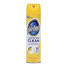 Pledge Lemon Clean Furniture Polish 970