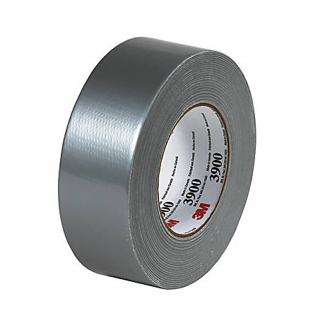 "3M™ 3900 Duct Tape, 2"" x 60 Yd., Silver, Case Of 3"