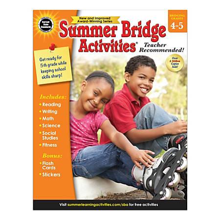Carson-Dellosa Summer Bridge Activities Workbook, Grades 4-5