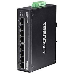 TRENDnet 8 Port Hardened Industrial Gigabit