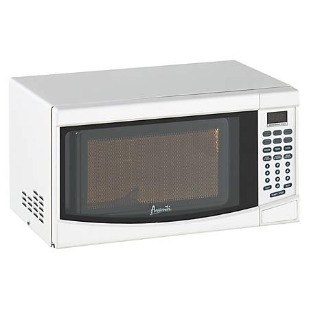 Avanti® 0.7 Cu. Ft. Countertop Microwave, White