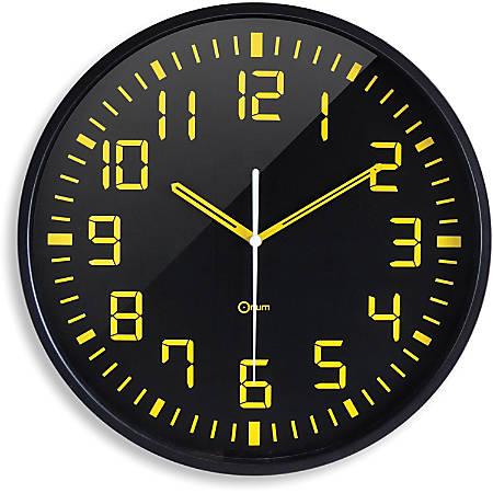 Orium Contrast Clock - Analog - Quartz