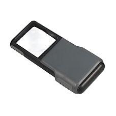 CARSON MiniBrite Pocket LED Magnifier 5x