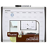 "Quartet® Magnetic Dry-Erase Calendar Board, 11"" x 14"""