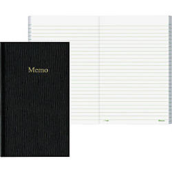 Rediform Flexible Cover Ruled Memo Book
