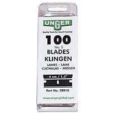 Unger 9 Single Blades Box Of