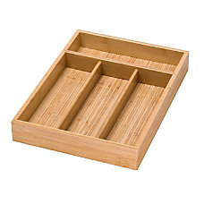 Honey Can Do 4 Compartment Bamboo