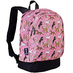 Wildkin Sidekick Polyester Backpack Horses In