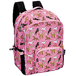 Wildkin Macropak Backpack Horses In Pink
