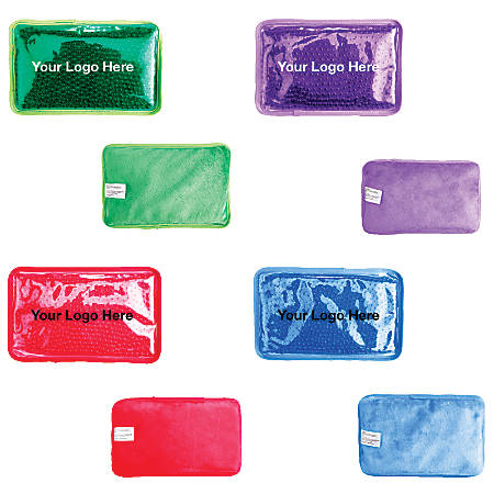 """Hot/Cold Pack With Plush Backing, 4 3/4""""H x 7 1/2""""W x 3/4""""D"""