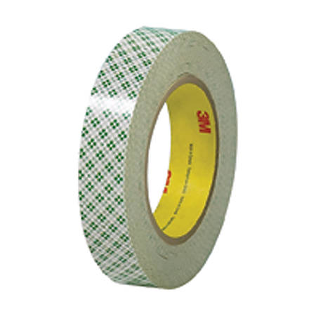 """3M® 410M Double Sided Masking Tape, 1"""" x 36 Yd., Off White, Case Of 3"""