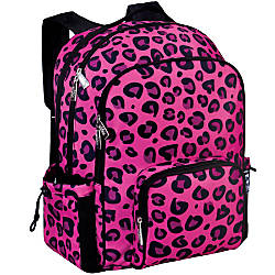 Wildkin Macropak Backpack Pink Leopard